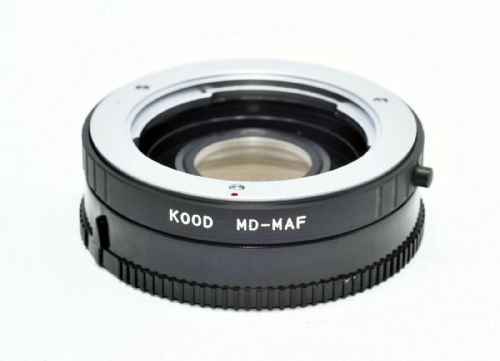 Kood Minolta MD MC lens to Minolta Dynax Sony Alpha MA Mount Adapter